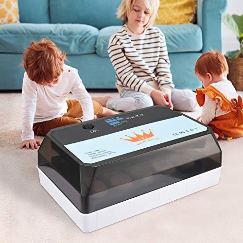 InLoveArts Incubadora de 15 huevos, criador digital automático,control de temperatura,pantalla LED fecha de incubación,utilizado para incubar todo tipo de huevos,incluyendo pollo,pato,ganso,codorniz