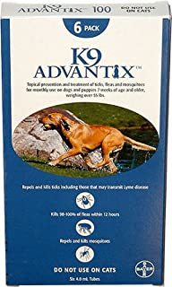 MONTH ADVANTIX Blue dogs 55lbs