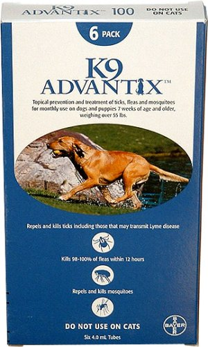 K9 advantix 12 Month Blue (for Dogs Over 55lbs)