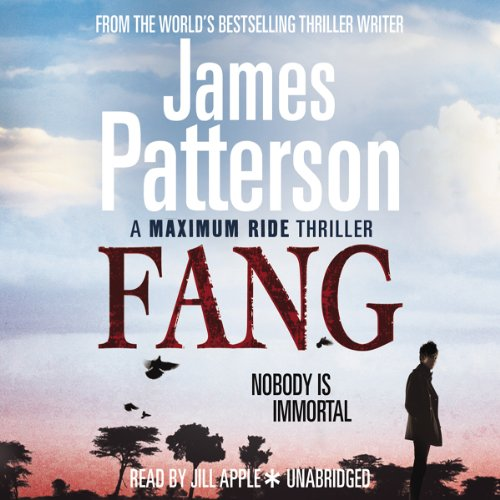 Maximum Ride: Fang audiobook cover art