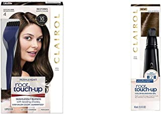 Clairol Root Touch Up & Root Touch Up Gel,Pack of 2 + Kit