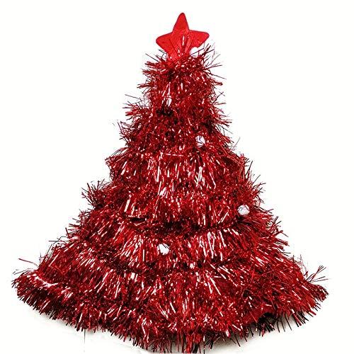 Maddy Christmas Hats - Hat Plush Elf Santa Hat Ornament Christmas cap Turkey Hats New Year Xmas Party Props Decoration - by 1 PCS