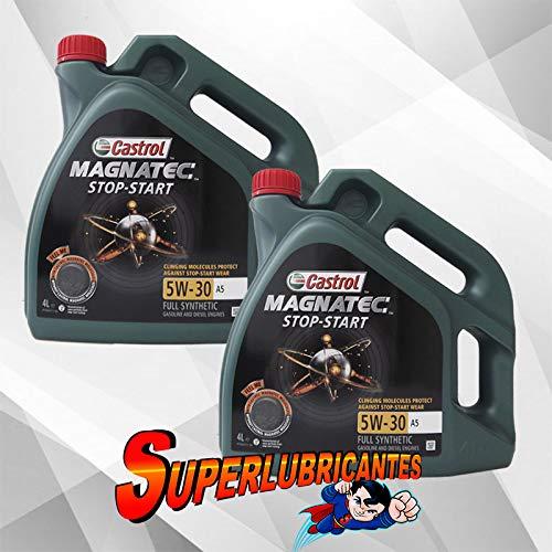 Mundocoche Castrol Magnatec 5W30 Stop-Start A5 2x4L (8Litros)