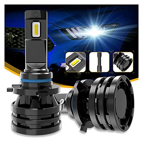 Kit de bombillas LED para coche M2 Luces de coche H7 16000LM H11 Lámpara LED Faro de Coche Bombillas H4 H1 H3 H8 9005 9006 HB3 HB4 9012 H13 9007 Turbo Bulbos LED 12V 24V Para reemplazar la lámpara
