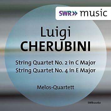 Cherubini: String Quartets Nos. 2 & 4