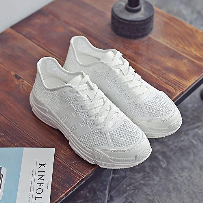NGRDX&G Netzschuhe Frauen Atmungsaktive Hohle Plattform Sportschuhe Frauen Weiße Schuhe    Authentische Garantie    Eine Große Vielfalt An Modelle 2019 Neue    Vorzugspreis