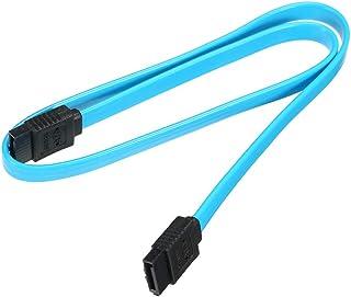كابل ساتا III مع قفل بسقاطة لهارد ديسك SSD 6 Gbps من دوكولر، لون ازرق