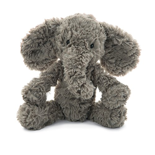 Jellycat Squiggle Elephant Stuffed Animal, Small, 9 inches
