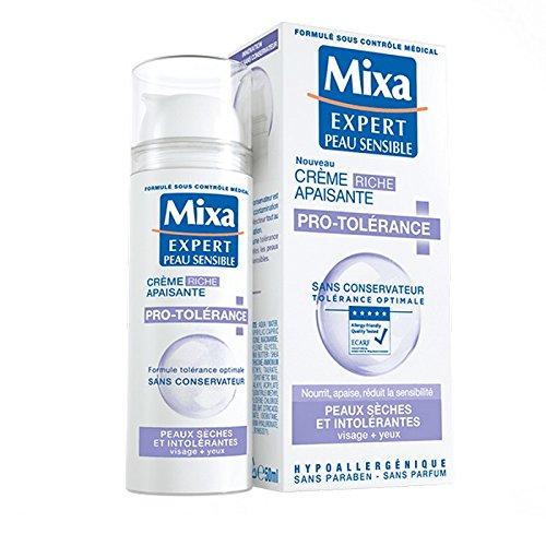 MIXA Creme apaisante Tolérance - Expert peaux sensibles - 50 ml