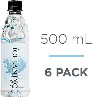 Icelandic Glacial Natural Spring Alkaline Water, 16.91 Fl Oz (6 Count)