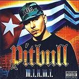 achiever world poster Pitbull Rapper -12 x 12