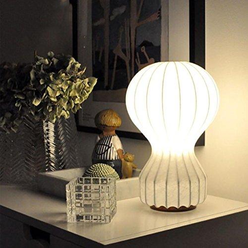Schlafzimmer Tischlampe Tischlampe Heißluft Ball Tischlampe Real Silk Luxus Wohnzimmer Schlafzimmer Studie Halle Korridor Lampe Kinder Zimmer Lichter LED-Lampe