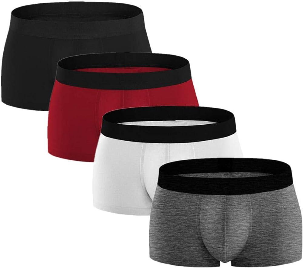 Male Underwear 4Pcs Set Men Cotton Boxer Shorts Soft Boxers For Men'S Panties Underpants Male Underwear Boxershorts