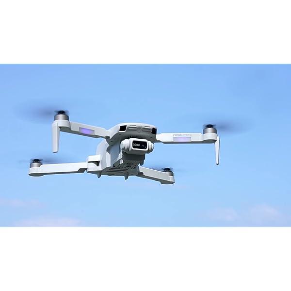 4DRC F8 Drone con Telecamera 4K UHD Drone GPS Pieghevole FPV RC con Ritorno Automatico a Casa, modalità Ritorno Home,Seguimi, Controllo Gestuale, 2 Batterie per 40 Minuti Volo e Valigetta da Trasporto 7 spesavip