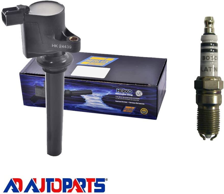 AD Auto Parts Ignition Coil キャンペーンもお見逃しなく Pack 1 Herko B056 低価格 - +