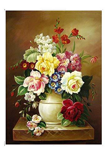 EACHHAHA 1000 Teile,Blumen Puzzle Erwachsene,Brain Teaser Puzzle,70x50cm / 27.5x19.7in,Blume