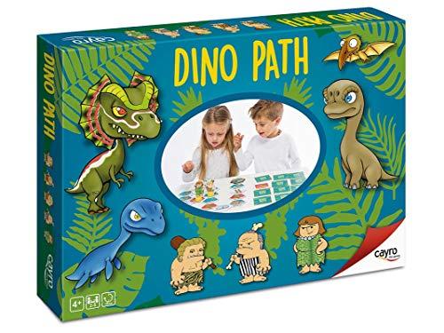 Cayro - Dino Path - Juego de Mesa Infantil y Primaria -...