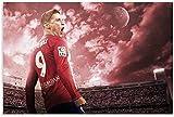 Luck7 Leinwand Druck Poster Fernando Torres Mode für