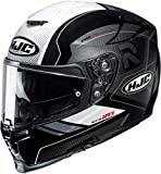 Casco de moto HJC RPHA 70 COPTIC MC5, Negro/Blanco, L