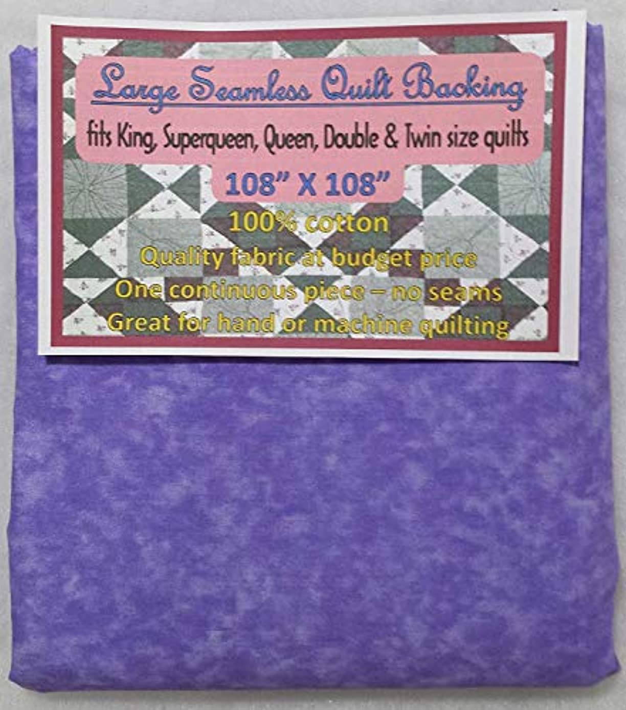 Quilt Backing, Large, Seamless, C44395-403, Light Purple