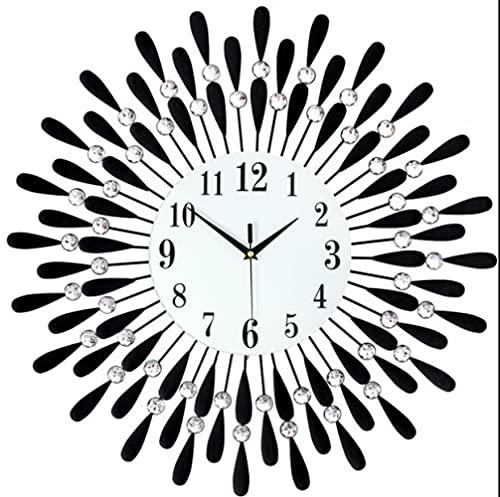 Reloj De Pared, Reloj De Hierro, Sala De Estar, Reloj De Decoración, Reloj Electrónico De Cuarzo