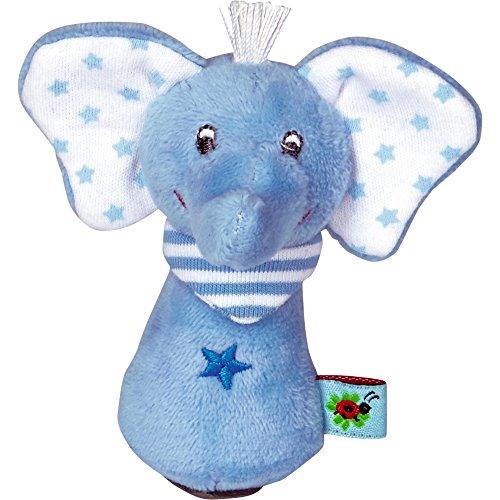 Spiegelburg 14147 Minirassel Elefant BabyGlück, hellblau