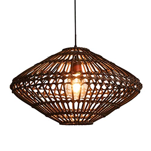 JIN Useful Restaurant Bamboo Chandeliers Tea Room Earrings Southeast Asia Rattan Lamps Clothing Store Chandeliers