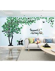 Árbol Pegatinas de Pared 3D Árbol Familia Marco de Fotos DIY Murales Stickers Decoración para Salón, Dormitorio, Oficina, Habitación Pegatinas Pared