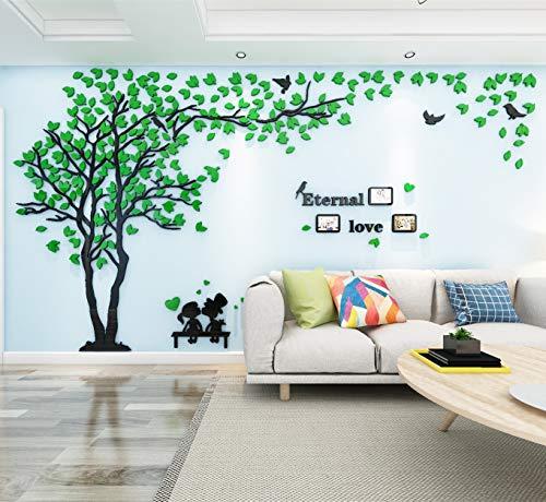 Árbol Pegatinas de Pared 3D Árbol Familia Marco de Fotos DIY Murales...