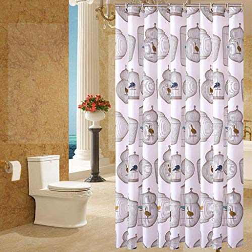 Badezimmer wasserdicht, Mehltau dicken Bad Vorhang, Polyester Stoff Vorhang Bad Dusche