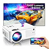 Bomaker mini Beamer 4K, 7000 Full HD wifi Beamer, 1280P Support, mit 300'' Display 90.000...