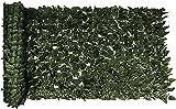 Hiedra Artificial Seto Artificial de Ocultación Pantalla de privacidad Paneles de setos artificiales decorativos Hoja de valla de hiedra de imitación para decoración de jardín y patio al aire lib
