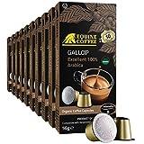 Equine Coffee Pods for Nespresso Original | 100 Pack Italian Nespresso Compatible Capsules (Not...