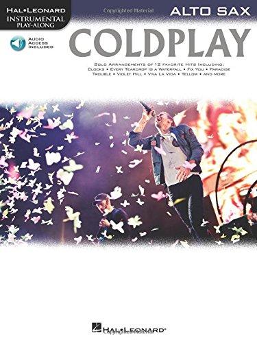 Instrumental Play-Along: Coldplay (Alto Saxophone): Play-Along, CD für Alt-Saxophon (Hal Leonard Instrumental Play-along)