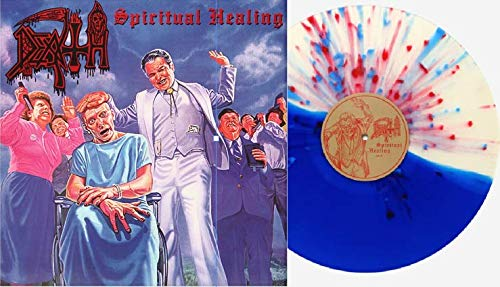 Spiritual Healing - Exclusive Limited Edition Blue Red Splatter Vinyl Split Colored Vinyl LP (Only 400 Copies Pressed!)