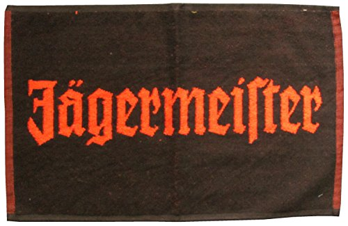 Jägermeister - Barhandtuch - Black 2010-53 x 33 cm