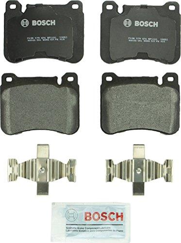 Bosch BP1121 QuietCast Premium Lot de plaquettes de frein avant semi-métalliques