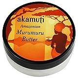 AKAMUTI - Beurre de Murumuru - Soin intensif pour les cheveux secs et crépus - Adoucit le cuir chevelu et les cheveux - Apporte...