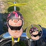 Decoraciones para autos Piggy, lindas decoraciones para cascos de bicicleta eléctrica para motocicletas, regalos para niños y niñas, accesorios, decoraciones, regalos de juguete para niños, adolescent