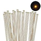 Evemodel 20 STK. vorgelötet Micro 0,1mm Kupfer Kabel Gelb SMD Led 0402 NEU C0402Y-20-EU -