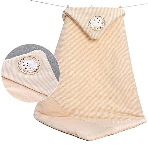 Couverture de bébé Nouveau-né Coton bébé Plus épais Couette bébé Serviette Fournitures