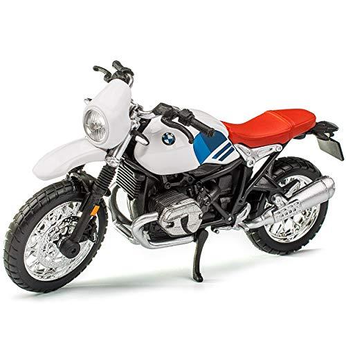 B-M-W R nineT Urban GS Weiss Ab 2014 1/18 Bburago Modell Motorrad