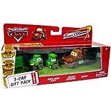 Disney / Pixar CARS Movie 1:55 Die Cast Car Race-O-Rama 3-Car Gift Pack Chick...