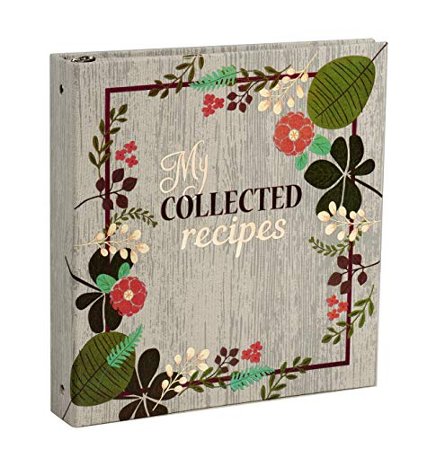 Meadowsweet Kitchens Create Your Own Collected Recipes Cookbook - Vintage Flowers