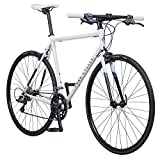 Pure Cycles Classic 16-Speed Flatbar Road Bike, 53cm/Medium, Ray White