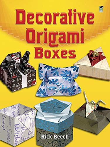 Decorative Origami Boxes (Dover Origami Papercraft)