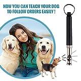 LUPO® Premium Hunde Pfeife um Bellen zu stoppen Gehorsamkeit Abweisend Haustier Training Hilfe - 2