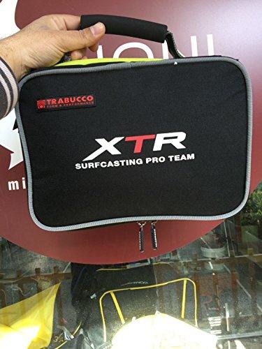Trabucco Funda Porta Carretes de Pesca Reel e Spool Case 22x30x12 cm Spinning Surfcasting