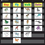 Teacher Created Resources Black 7 Pocket Chart (20740)...