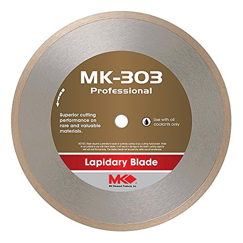 MK Diamond 153691 MK-303 Professional 6-Inch Diameter Lapidary Blade by .020-Inch wide by 1/2-Inch Arbor